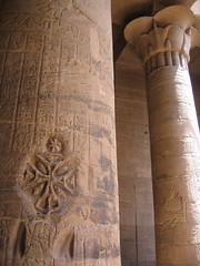 Coptic Symbol @ Philae