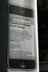 Stanford iPhone User Group