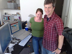 The Greers, founders of Kongregate (they are brother and sister)