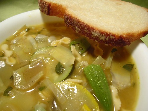 Light and Savory Vegetable Soup