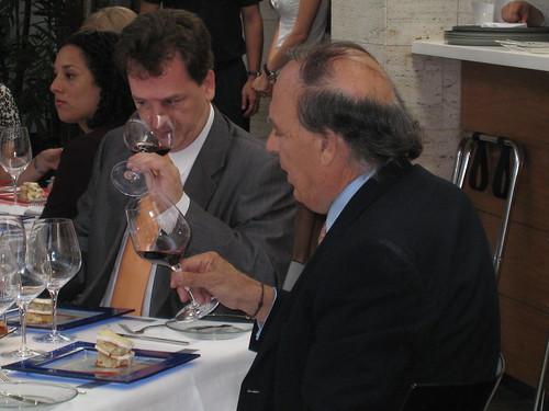 Oriol Serra y el Marqu?s de Gri?on
