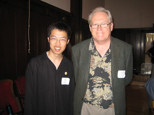 Me with John Dvorak