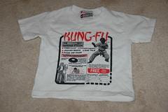 Everybody was kung fu fighting...