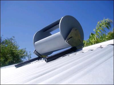 roof-mountable wind turbine
