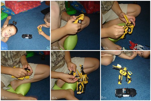 Playing Transformers