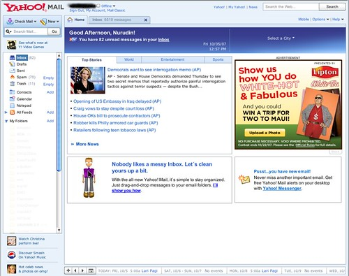 Yahoo! Mail Final Version