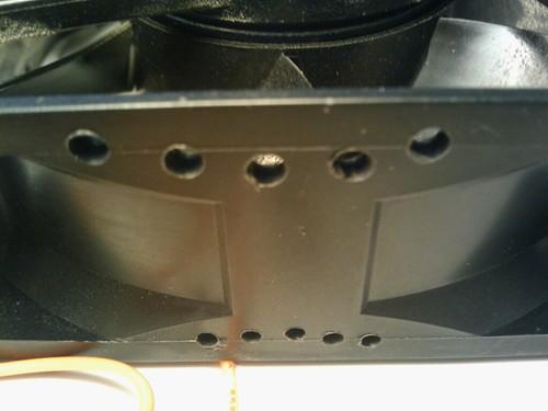 Airflow holes