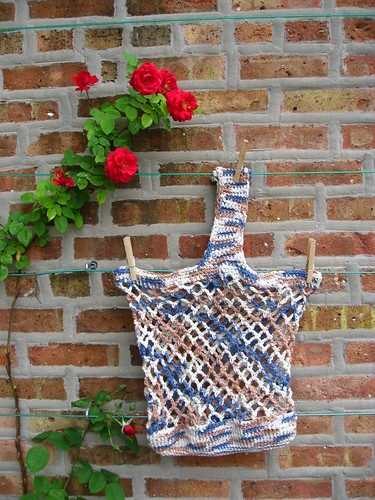 Crochted market bag