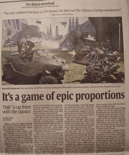 Halo 3 (USA Today)