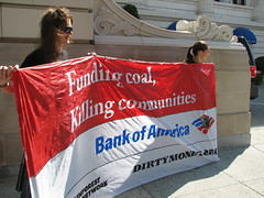 Bank of America- Funding Coal, killing Communities