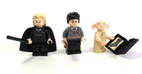 4736 Freeing Dobby: Minifigs