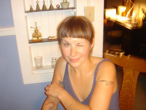 Sarah, arch-nemisis of Julian Chadwick