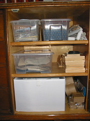 Right side of cabinet