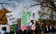The only thing we have to fear is fear itself and zombies