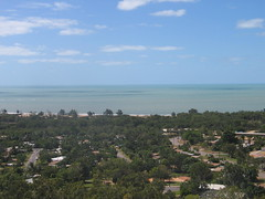 View over Nhulunbuy (Gove) NT from Mt Saunders