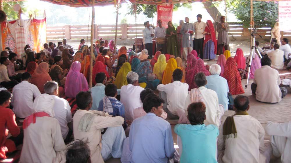 Pics from the satyagraha - 20 Oct 2010 - 2