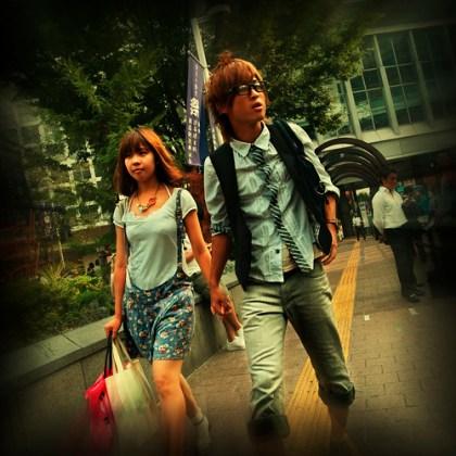 De paseo por Shibuya