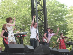 Lollapalooza Day 3 - Los Campesinos!