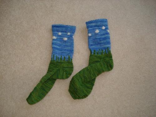 BigSkyMind Socks