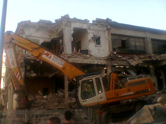 demolición mercado chueca