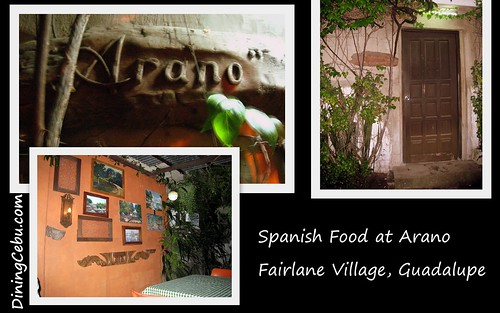 Philippines Food & Restaurant - Arano Spanish Restaurant in Cebu