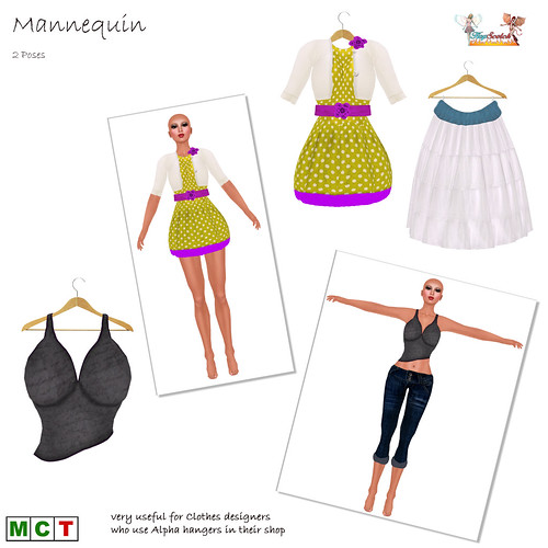 Mannequin Poses for Clothes Designers
