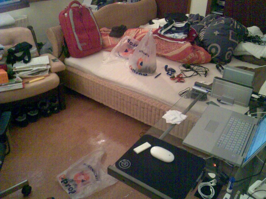 ordenando habitacion