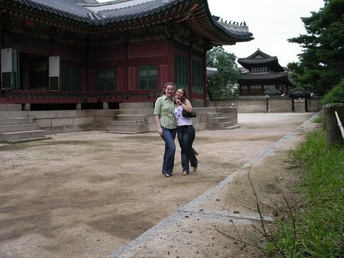 With Tsvety at Deoksugung