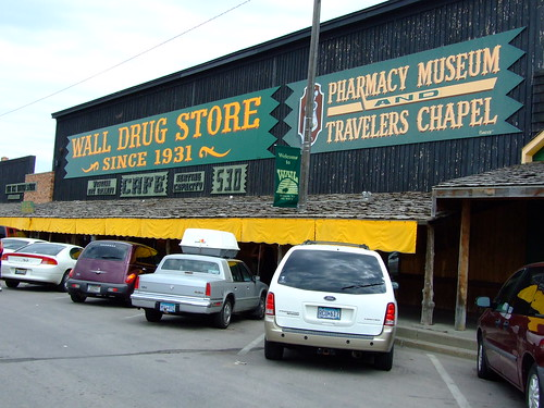 wall drug (obligatory stop)