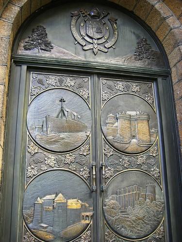 Lebanese Church Door, Brooklyn Heights