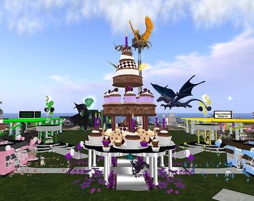 SL7B: Dragons raid the SL7B cake!