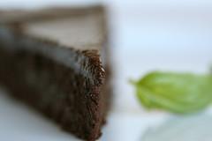 Flourless Chocolate-Basil Torte 1