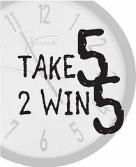 Take 5 to win five