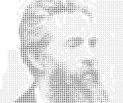 Herman Melville ASCII