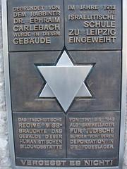 Ephraim-Carlebach-Haus - Gedenktafel