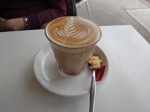Sideways Deli Cafe: Latte