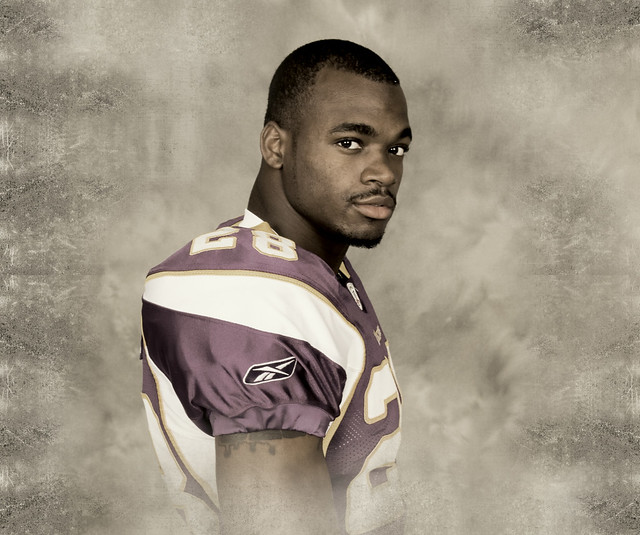 Adrian Peterson - Rookie Picture