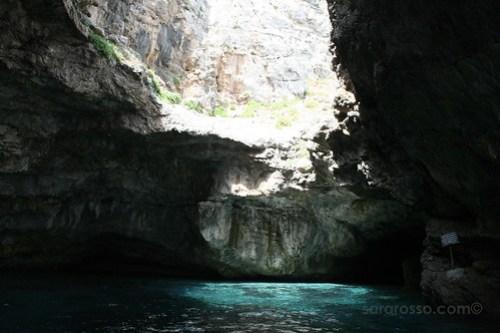 Grotto at Marettimo