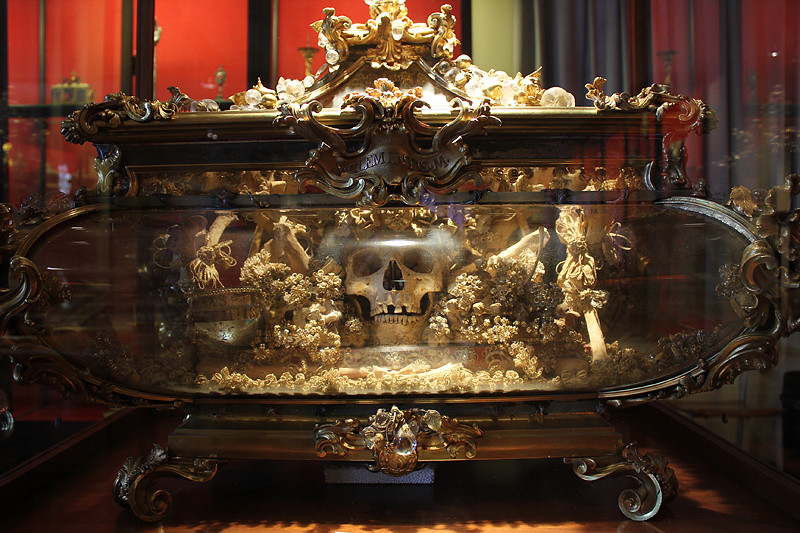 The Skull of Saint Catherine