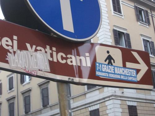Vatican sign