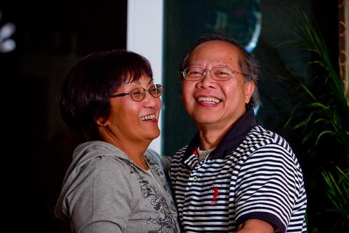 parents couple dancing