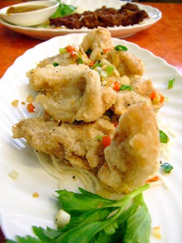 Oriental Expression - salt chilli pork chop