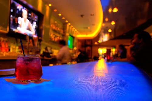 Drink at Red - Pacific Palms Resort by JsonStone.