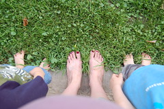 7 Days, Day 2: Outside Feet
