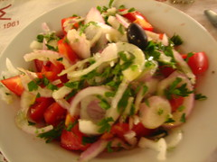Taverna Kronos - Tomato Salad