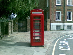 post office telephone box
