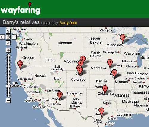 wayfaring map example