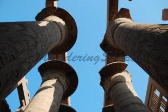 Pillars at Karnak