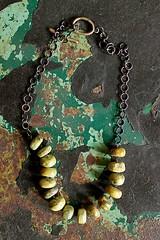 steel,jade & brass