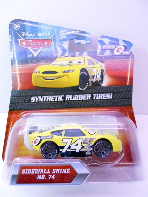 DISNEY CARS KMART COLLECTOR DAY 5  SIDEWALL SHINE RACER (1)